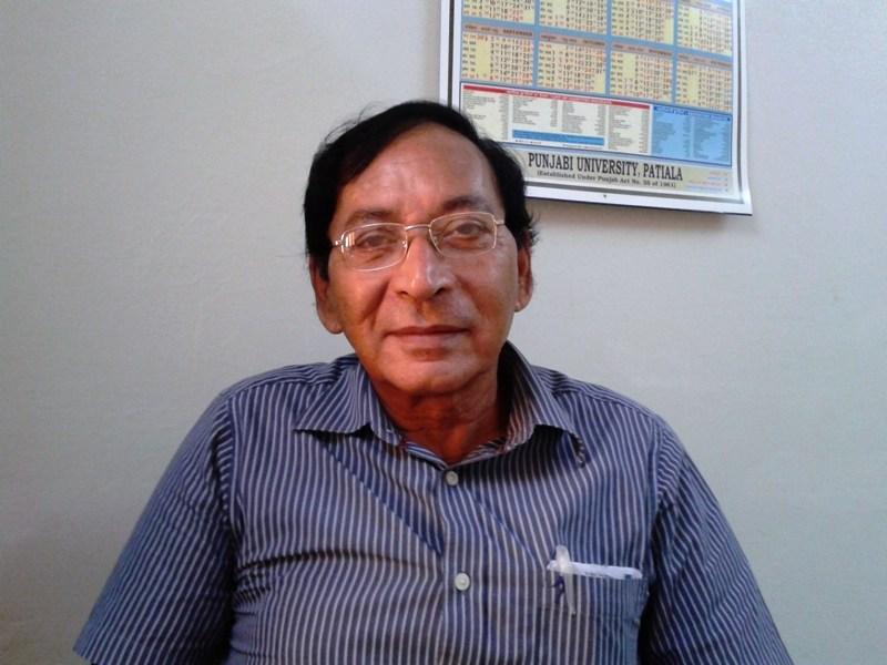 Professor Dr. S.K.Verma (31-10-1949 to 02-05-2016)